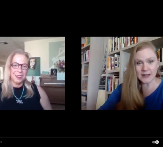 Artist & Writer Carolyn Schlam in Interview